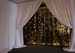 Black light curtains
