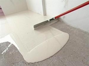 бетонное основание под ламинат