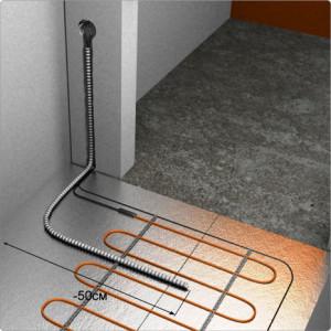 монтаж терморегулятора на теплый пол