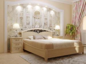 Стильное оформление спальни